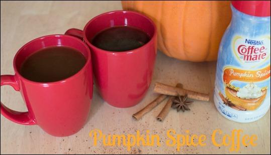 Pumpkin Spice Coffee #shop