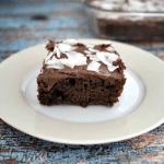 Chocolate Coconut Zucchini Cake Recipe