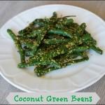 Coconut Green Beans Recipe