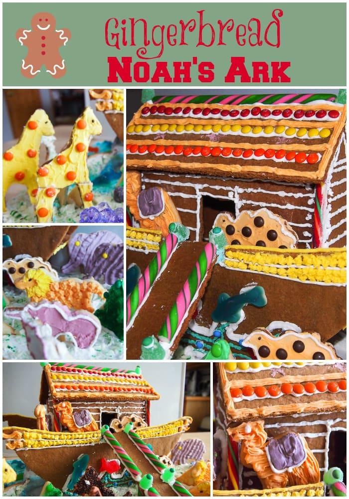 Gingerbread Noah's Ark #gingerbread #christmas