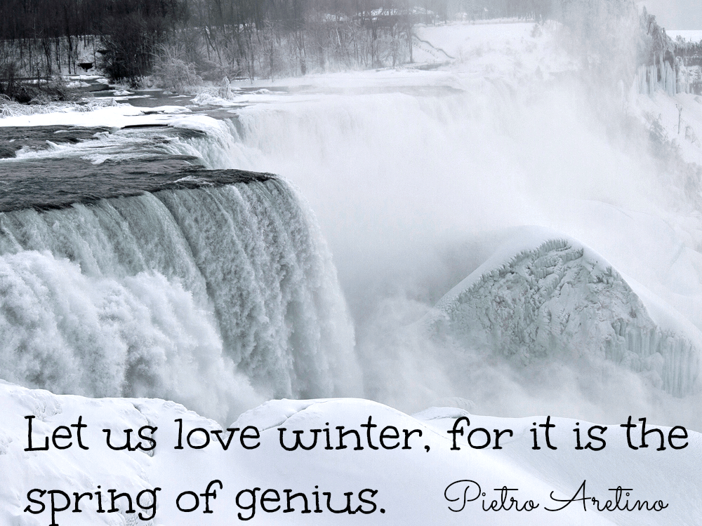 Winter water quotes