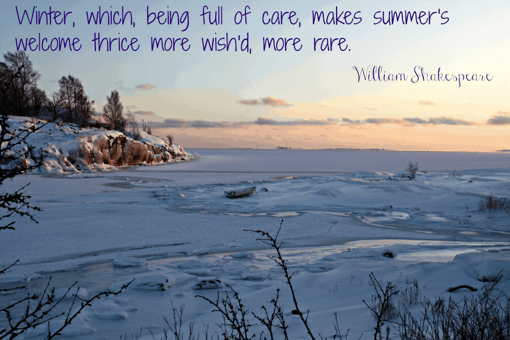 10 Quotes About Winter- Upstate Ramblings