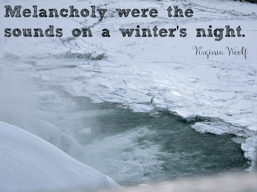 10 Quotes About Winter Upstate Ramblings
