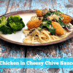 Chicken in Cheesy Chive Sauce with Philly Cream Cheese