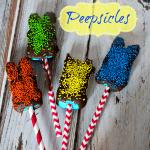 Peepsicles – Chocolate Covered Frozen Peeps Pops