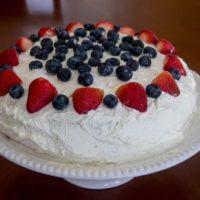 Norwegian Cream Cake - Blotkake