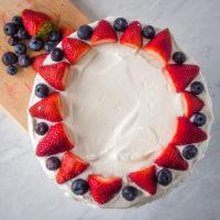 Bløtkake - Norwegian Cream Cake