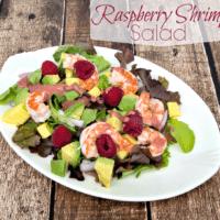 Raspberry Shrimp Salad