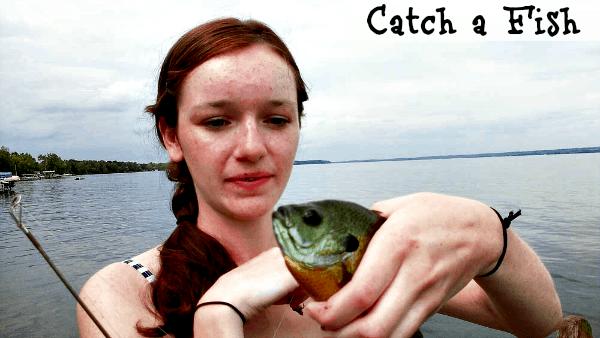 Summertime fun - catch a fish #shop