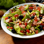 Chicken Blueberry Chopped Salad Recipe from Redpack Tomatoes