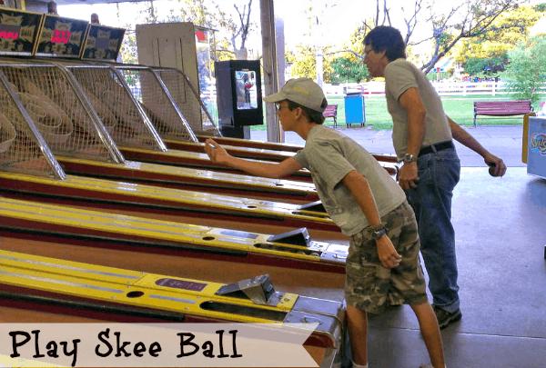 Summertime fun - skeeball #shop