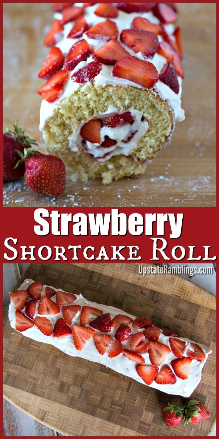 Easy Strawberry Cake Roll Recipe
