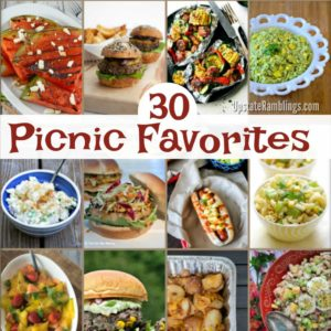 30 Picnic Favorites for Summertime Fun