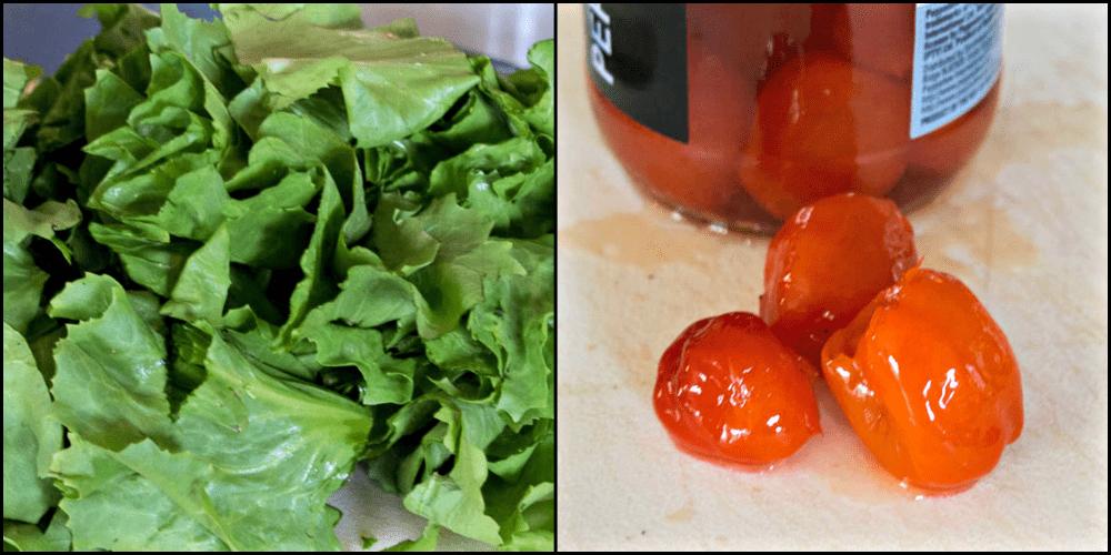 Utica Greens Ingredients