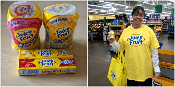 Juicy Fruit Demo at Walmart #JuicyFruitFunSide #shop