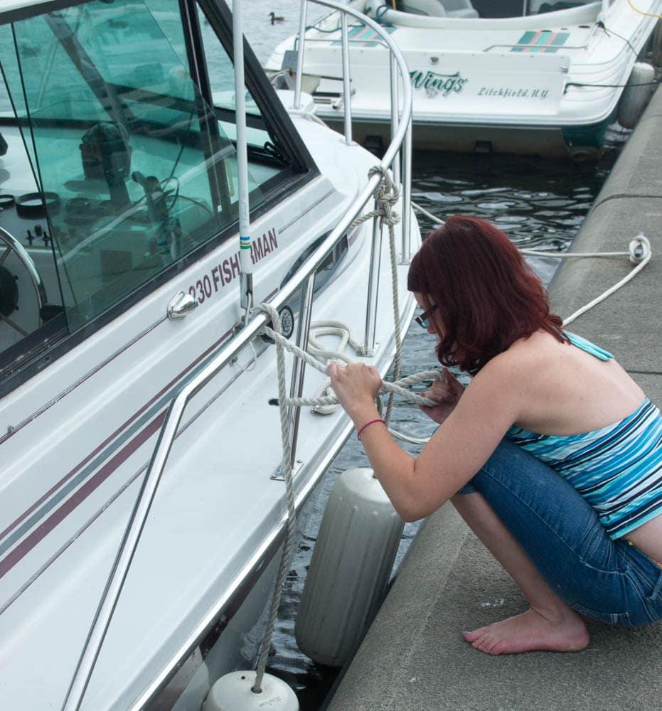 Docking the boat #JuicyFruitFunSide #shop