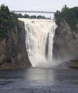 Wordless Wednesday – Montmorency Falls Quebec