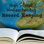 Back to Homeschool – High School Record Keeping