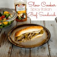 Spicy Italian Beef Sandwich