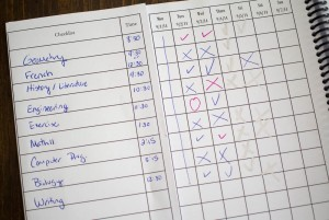 Daily Planner for Homeschoolers – My Student Log Book Review