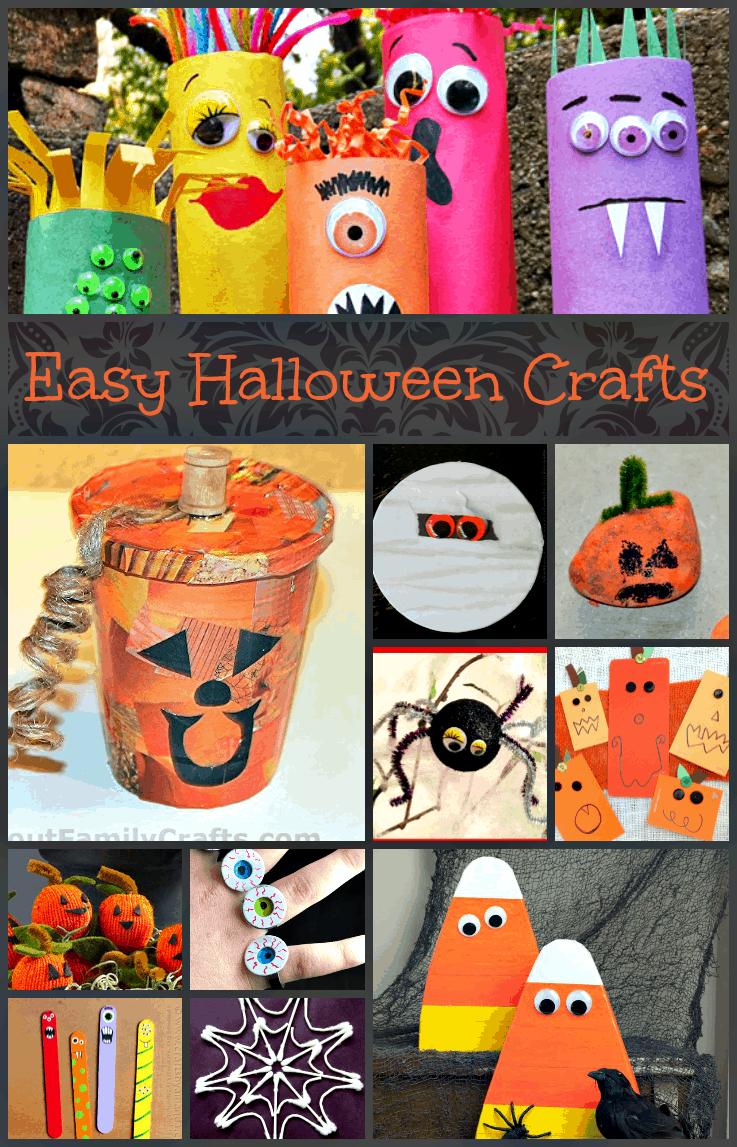 Fun Home Halloween Crafts