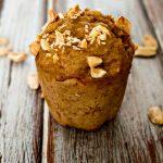 Peanut Butter Banana Muffins with Musselman's Apple Sauce