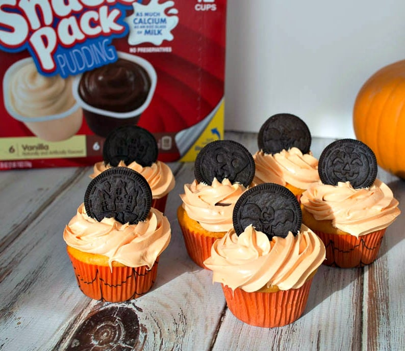 Halloween Snack Pack Cupcakes #SnackPackMixins #shop