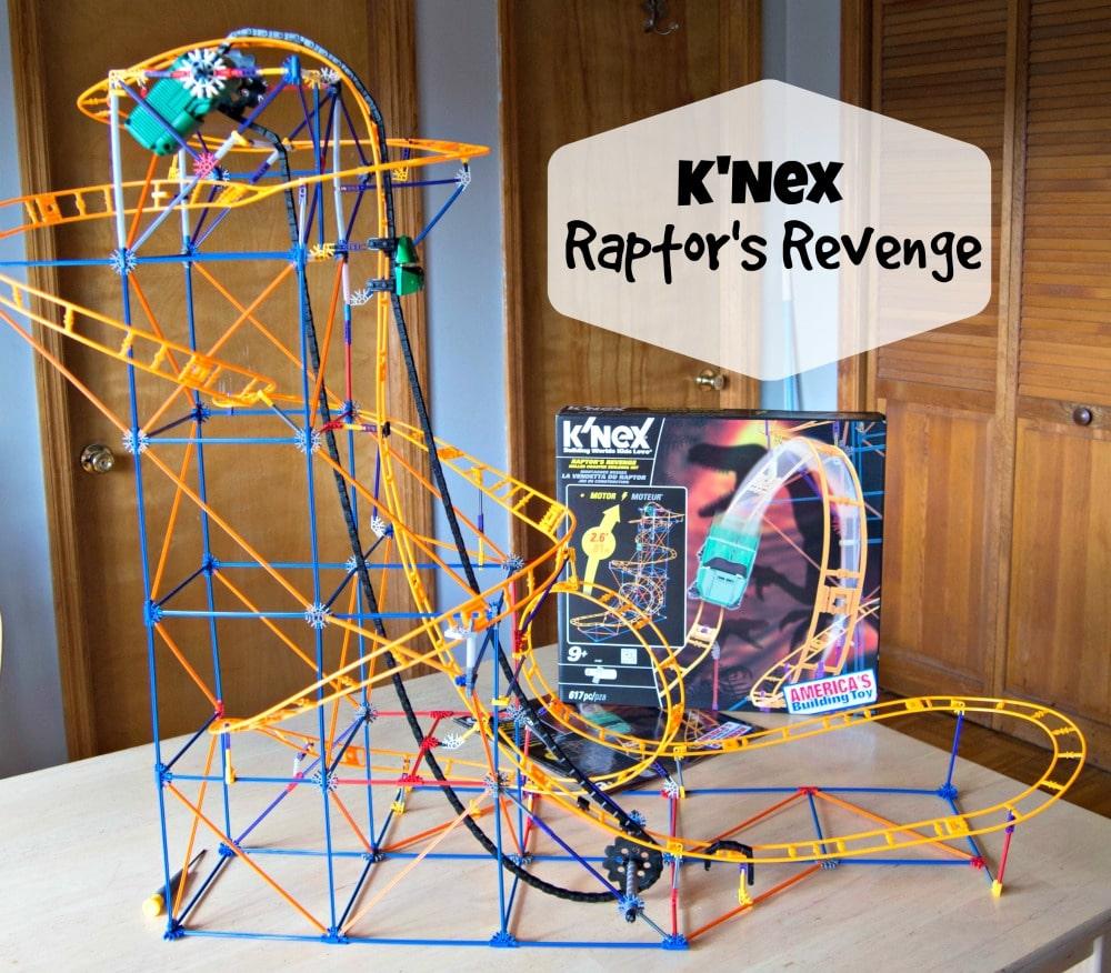 Knex Raptors Revenge Roller Coaster Review And Giveaway Upstate