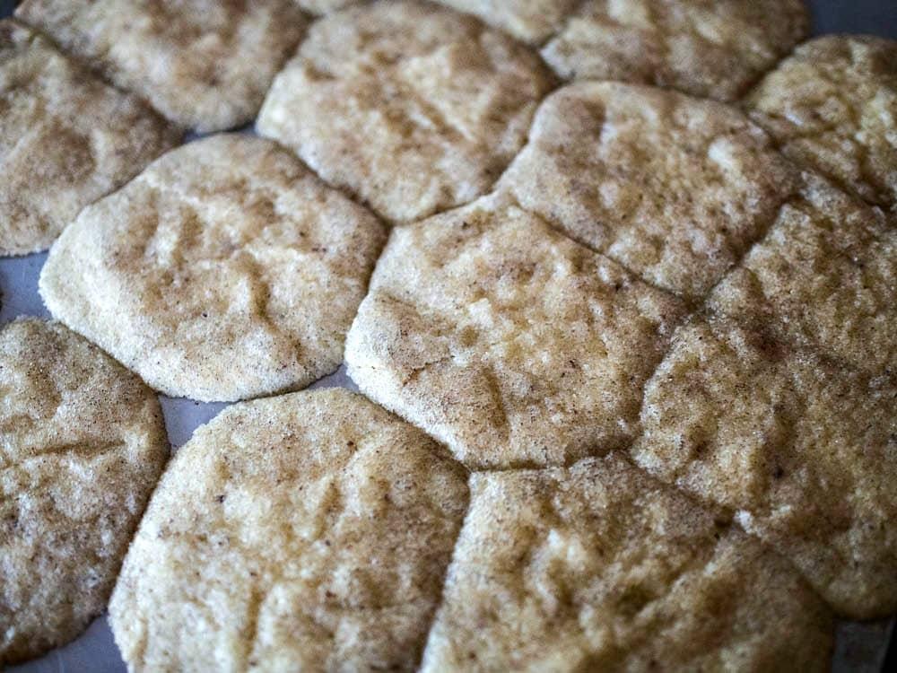 Smushed Cardamon Cookies