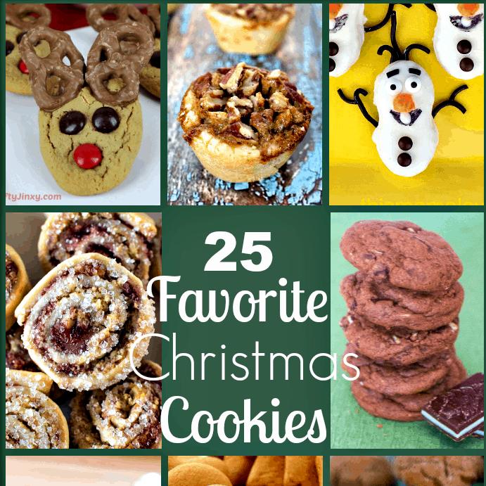 25 Favorite Christmas Cookies