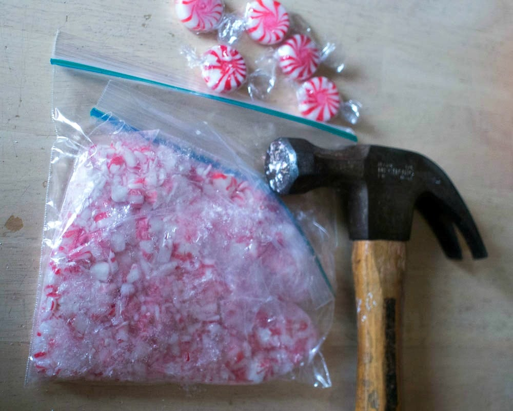 Breaking up the Peppermint Candy with a Hammer