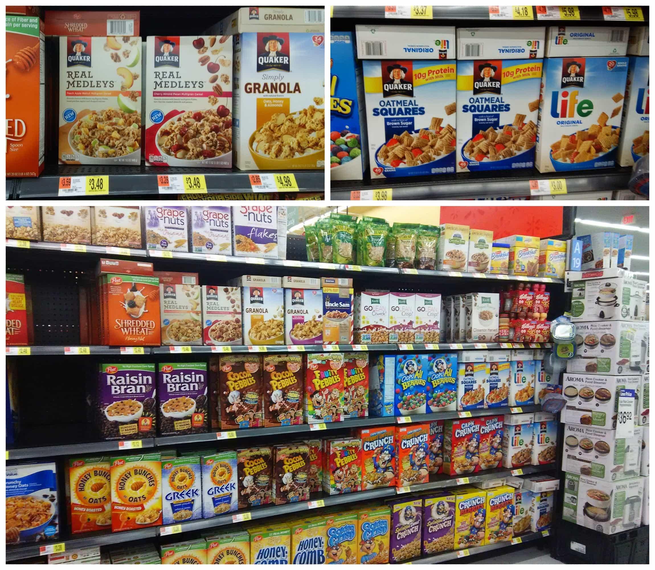 Quaker Products at Walmart