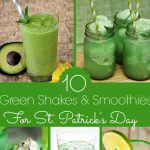 10 Green Shakes and Smoothies for St. Patrick's Day