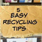 5 Easy Recycling Tips with Giveaway
