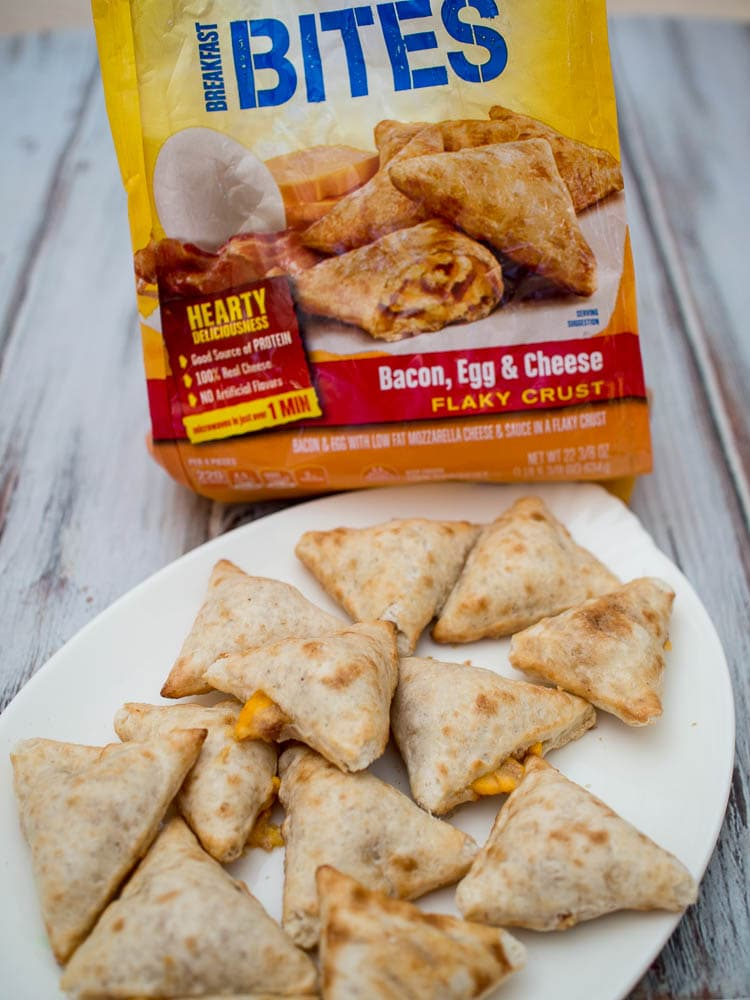 Hot Pocket Breakfast Bites for a quick and easy snack