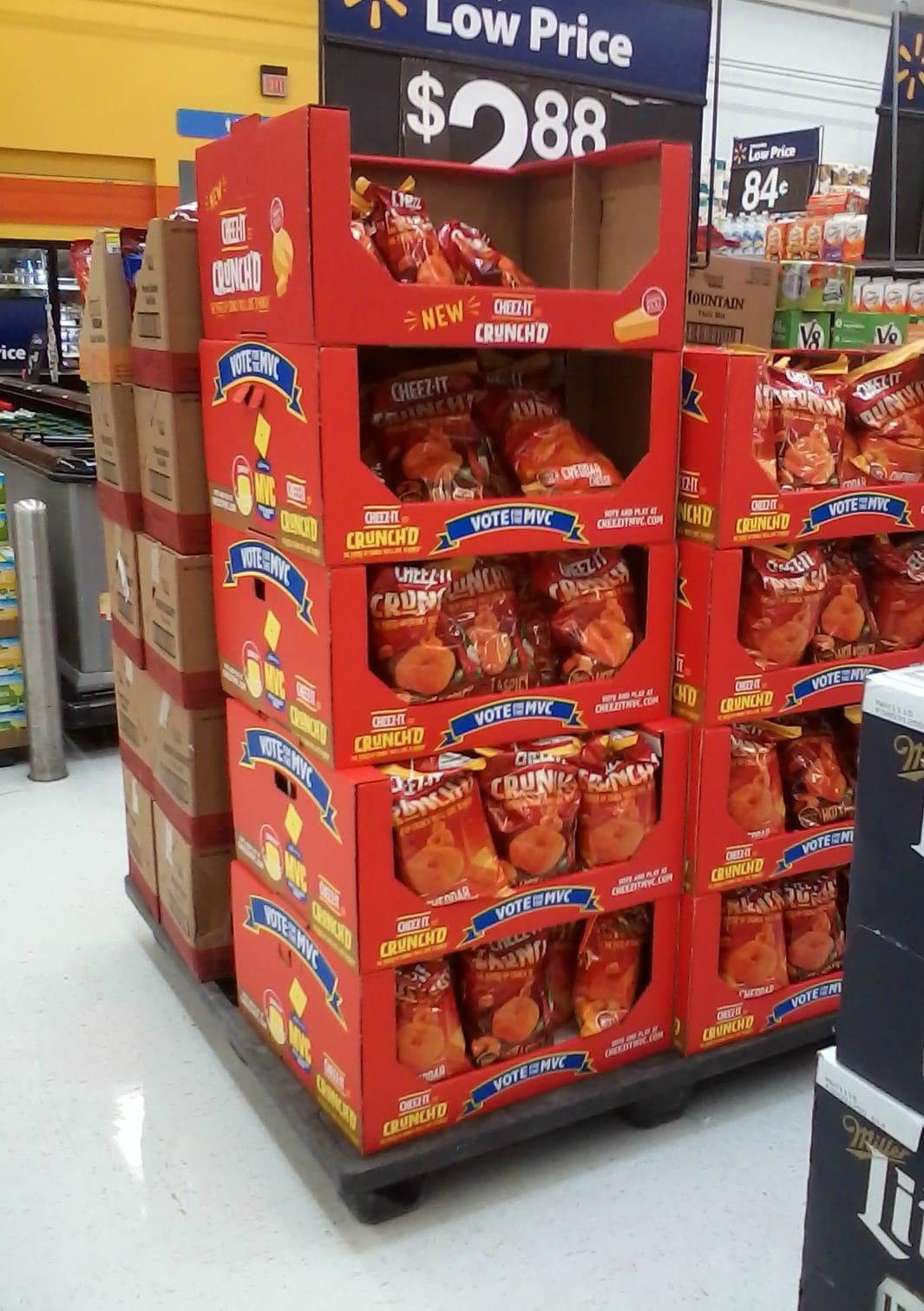 Cheez-it at Walmart