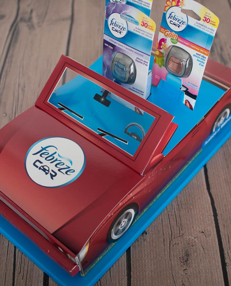 Febreze Car Vent Clips with Giveaway