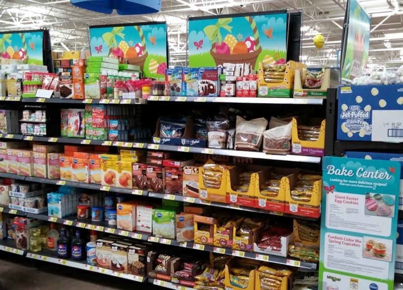 spring baking at Walmart