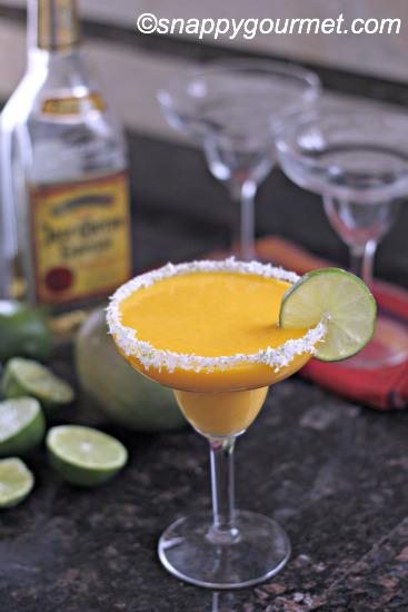 Mango Coconut Margarita by Snappy Gourmet