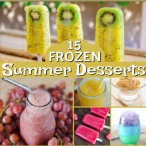 Frozen Treats for Hot Summer Days