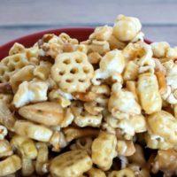 Caramel HoneyComb Snack Mix