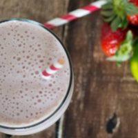 Strawberry Citrus Shake