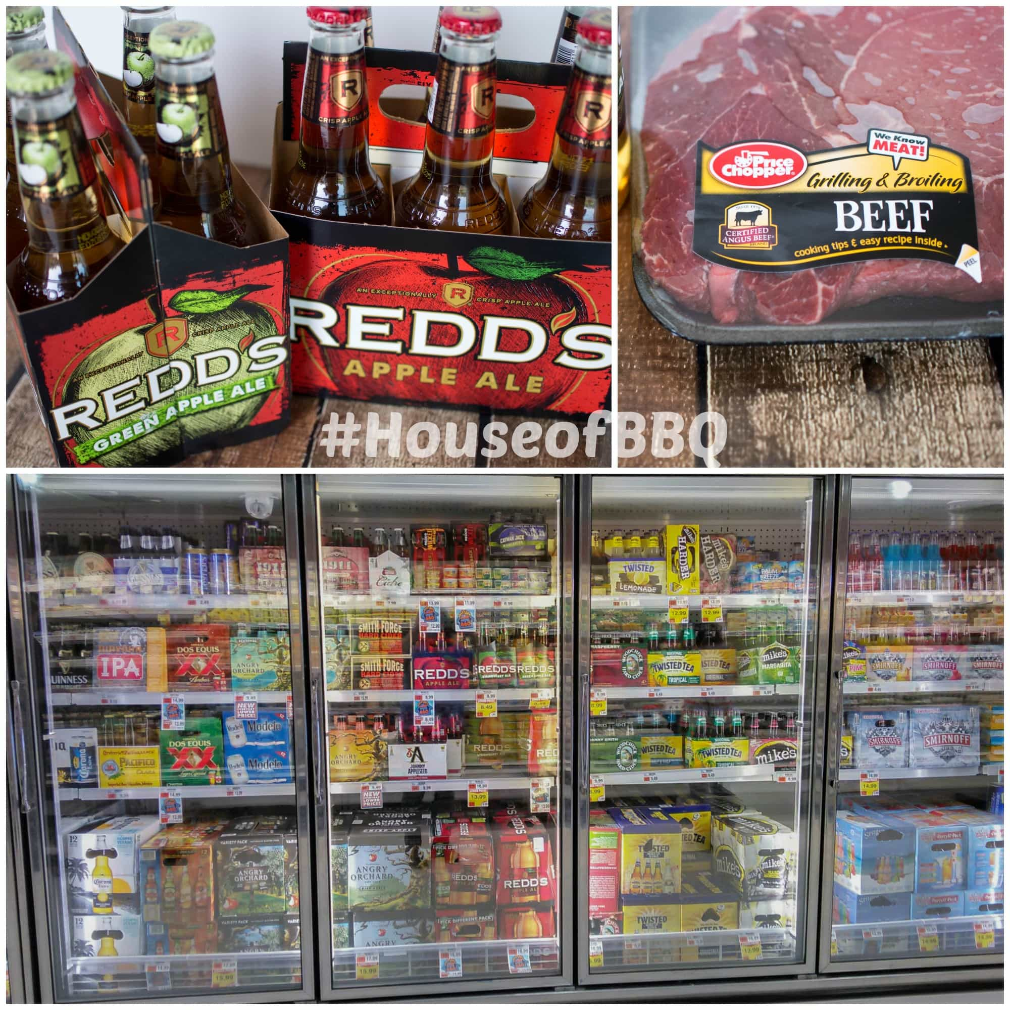 House of BBQ - Redd's Apple Ale and Certified Angus Beef