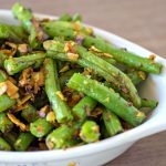 Sauteed Green Beans with Coconut