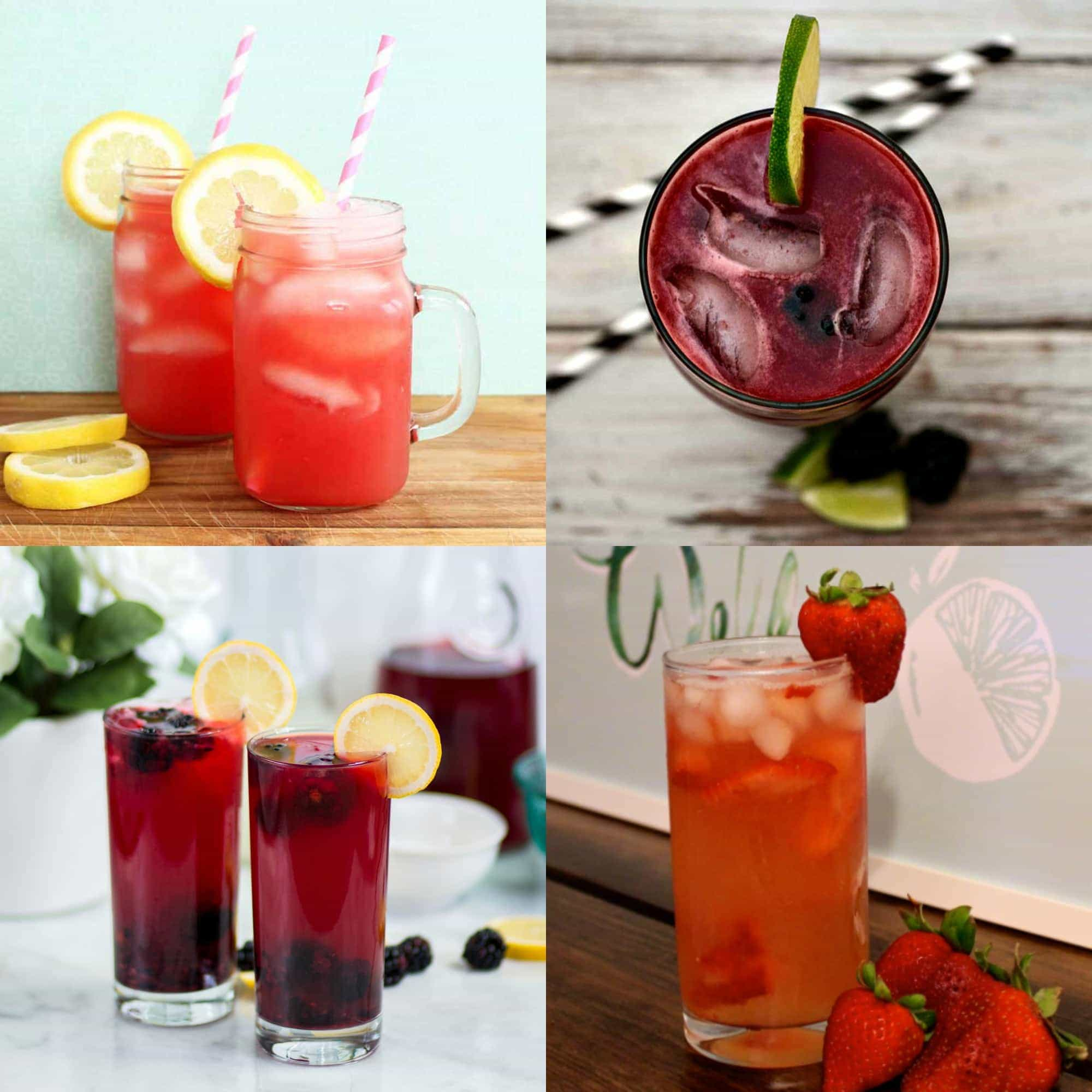 Cool and Refreshing Summer Drinks - Lemonade and Limeade Recipes