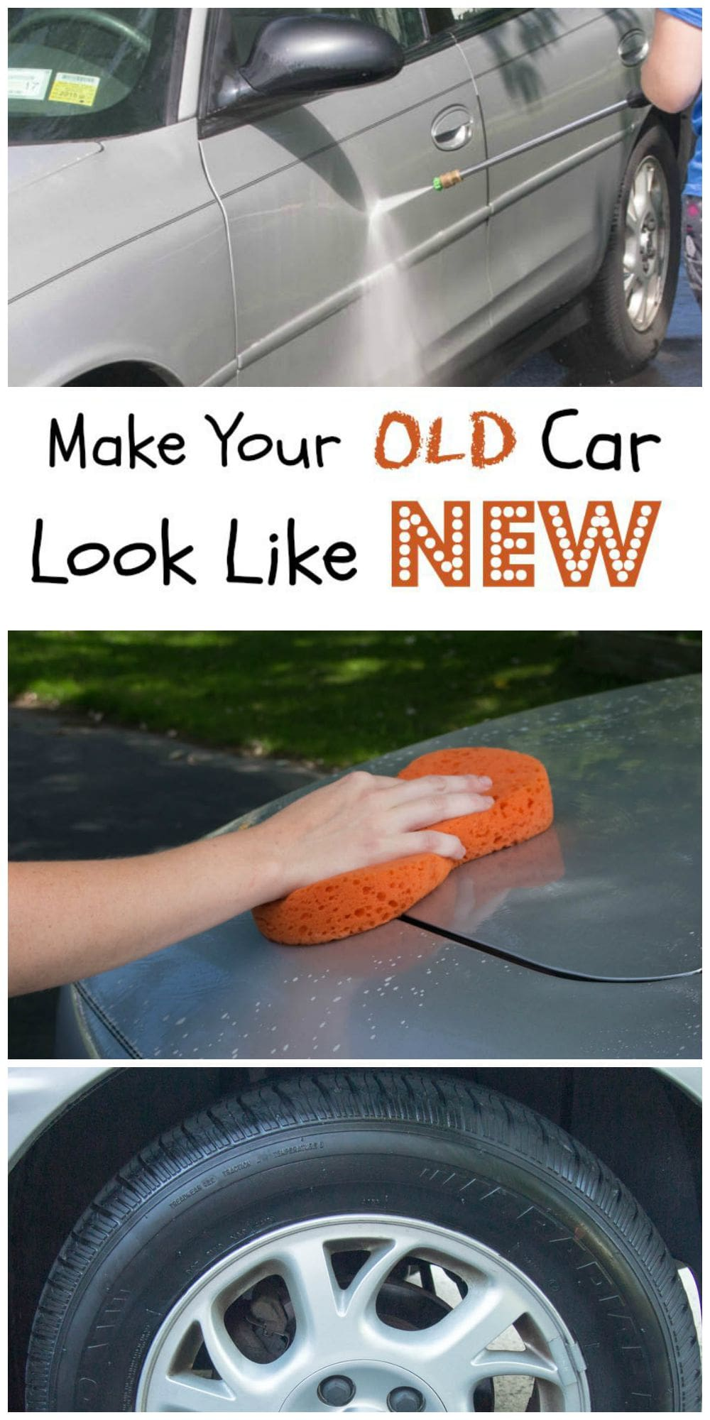 Make Your Old Car Look Like New - Get your car ready for college with these seven easy steps for making an old car look like new and getting your car college ready.
