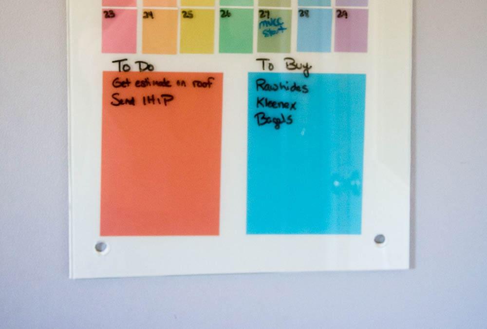 Memo Board DIY project