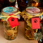 Doggie Treat Jars for the Holidays