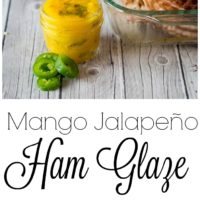 Mango Jalapeno Ham Glaze