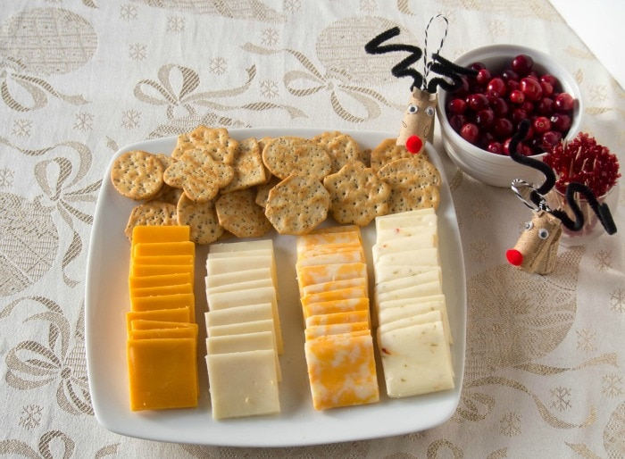 Easy Entertaining with Cracker Barrel Cheese Tray